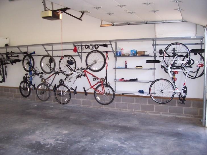 Garage Storage System Installed