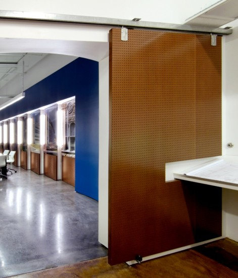 KLF Architectural Systems Sliding Door Interior Design