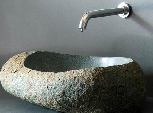 cirrushdsite home decor ideas: natural stone bathroom sinks