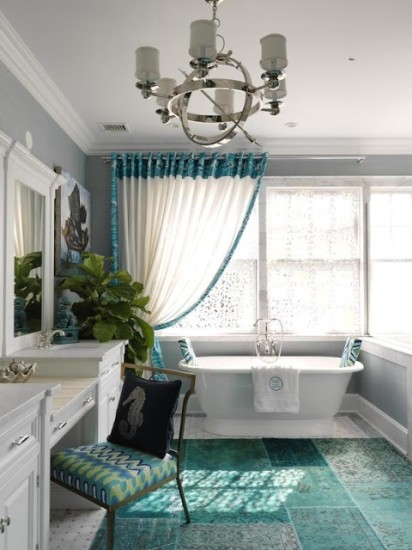 Romantic Master Bathroom Design Ideas