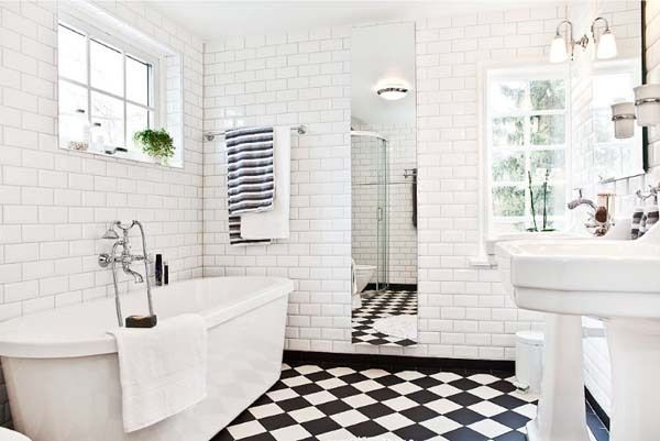bathroom.black+and+white+tiles
