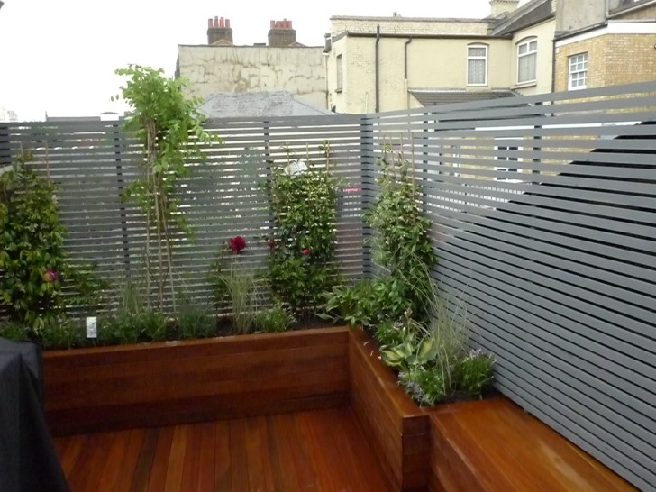 clapham garden roof terrace ideal small space solution