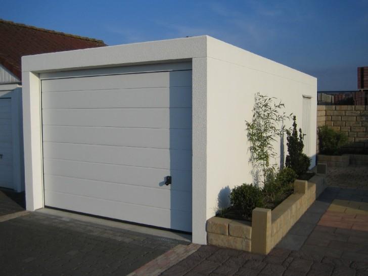 cube style prefab garage