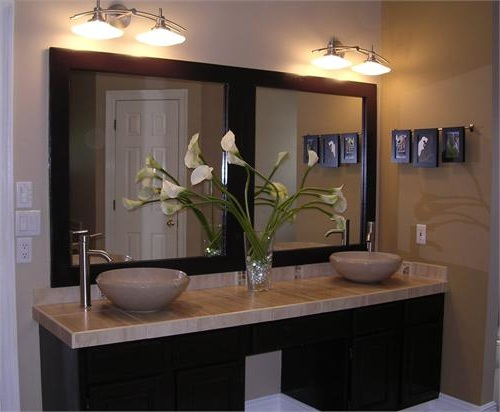 frameless vanity mirror bathroom other on brilliant