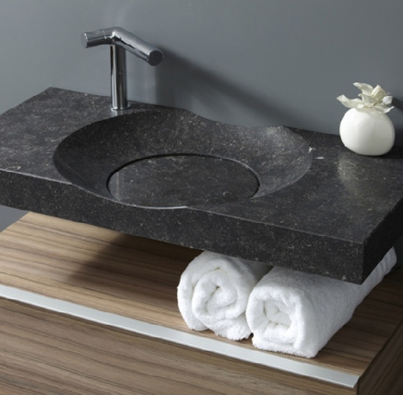 CirrusHDSite.com Home Decor Ideas: Elegant Modern Stone Bathroom Sinks