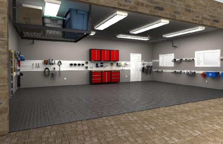 garage storage ideas for wide garage