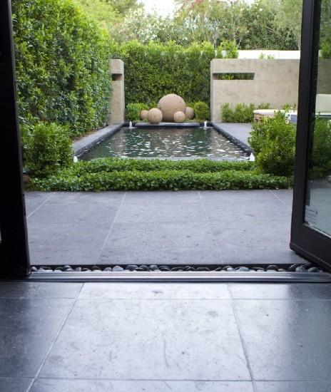 minimalist garden picture