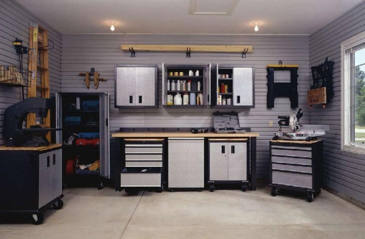 modern Garage organization style