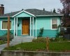 nice blue style home exterior color