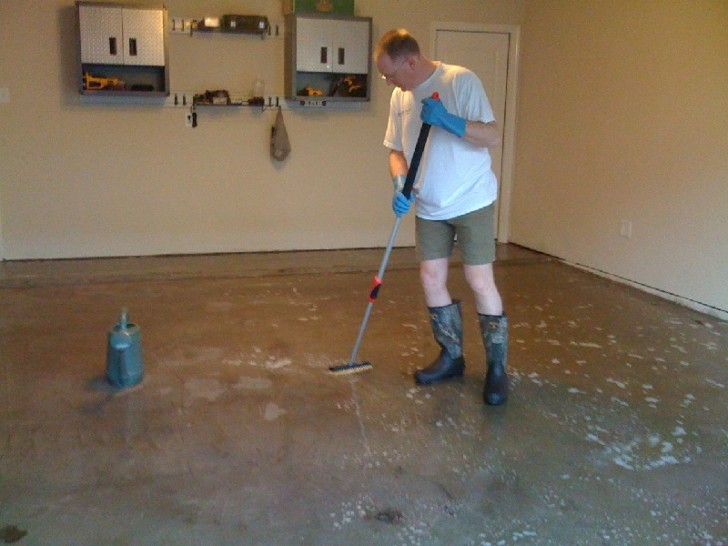 sealing the garage for floor epoxy