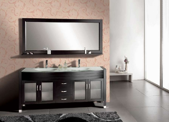 Wide Bathroom Vanity Mirror  CirrusHDSite.com