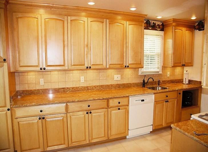 wooden kitchen cabinet design ideas